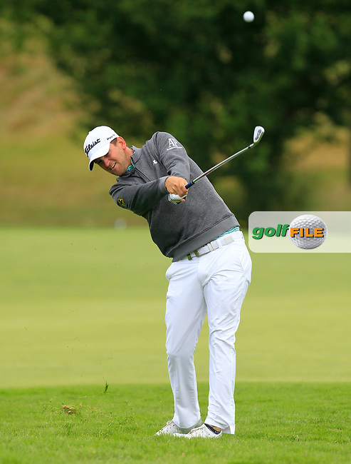 Bernd Wiesberger (AUT) on the 1st fairway during Round 2 of the HNA Open De France  at The Golf National on Friday 30th June 2017.<br /> Photo: Golffile / Thos Caffrey.<br /> <br /> All photo usage must carry mandatory copyright credit      (&copy; Golffile | Thos Caffrey)