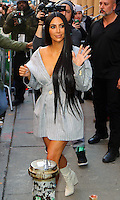 www.acepixs.com<br /> <br /> February 14 2017, New York City<br /> <br /> Kim Kardashian visits her sister Kylie Jenner's 'Pop up shop' in Soho on February 14 2017 in New York City<br /> <br /> By Line: Zelig Shaul/ACE Pictures<br /> <br /> <br /> ACE Pictures Inc<br /> Tel: 6467670430<br /> Email: info@acepixs.com<br /> www.acepixs.com
