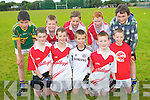 Taking part in the Glenflesk GAA Cul Camps last week. .Front L-R Oisin Doherty, Darra Fleming, Daniel O'Connor, Diarmuid O'Donoghue and Jack O'Leary. .Back L-R Finn O'Sullivan, Sean Doherty, Ryan Casey, Jack O'Donoghue and Alan Murphy.