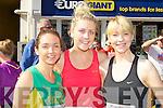 Siobhain Long, Janet Ryan and Tina Donovan Castleisland keeping fit at the Killarney ladies mini marathon on Saturday ..