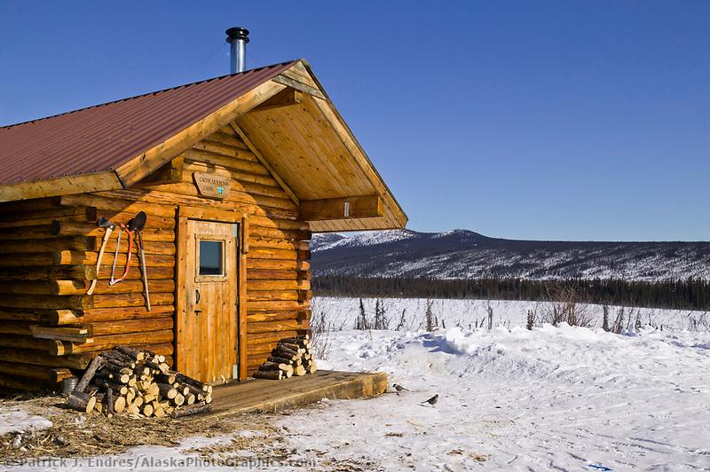 Cache creek cabin, White Mountains National Recreation Area, interior, Alaska