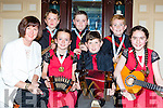 The Kilcummin Group who won Gold at the u12 All Ireland Commmunity Games final were honoured at the Kerry Community Games awards in the River Island Hotel Castleisland on Friday night fron t l-r: Grainne Evans, Olwyn evans, Michael Healy, Julianna Friel. Back row: Ewan Evans, Ryan McGurl and Liam Kerrisk