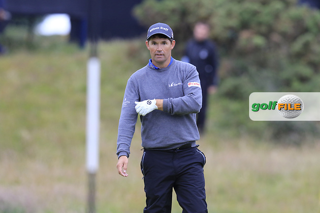 Padraig HARRINGTON (IRL) at the 17th green during Monday's Final Round of the 144th Open Championship, St Andrews Old Course, St Andrews, Fife, Scotland. 20/07/2015.<br /> Picture Eoin Clarke, www.golffile.ie