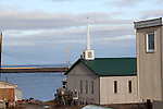 CHURCHES IN KUGLUKTUK, NUNAVUT, CANADA