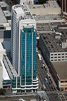 aerial photograph Intercontinental hotel San Francisco