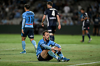 17th November 2019; Jubilee Oval, Sydney, New South Wales, Australia; A League Football, Sydney Football Club versus Melbourne Victory; Adam le Fondre of Sydney rues a missed opportunity