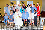 Fr Luke Roche celebrated his Golden jubilee with his family and friends  in St Gobnaits church Keel on Saturday evening