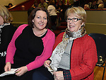 Emma Luckey and Bernadette Thorne pictured at the classical concert in the Bohemian Centre Ardee.