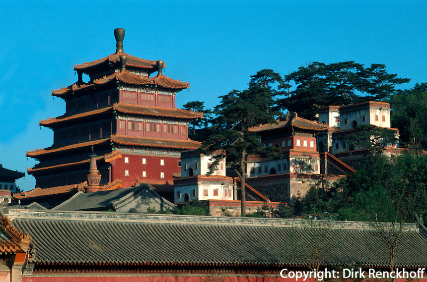 China, Puning Si-Tempel in Chengde