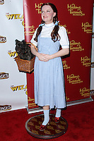 "HOLLYWOOD, CA - SEPTEMBER 18: A wax figure of actress Judy Garland as Dorothy from the 'The Wizard of Oz' film at ""The Wizard Of Oz"" Opening Night held at the Pantages Theatre on September 18, 2013 in Hollywood, California. (Photo by Xavier Collin/Celebrity Monitor)"