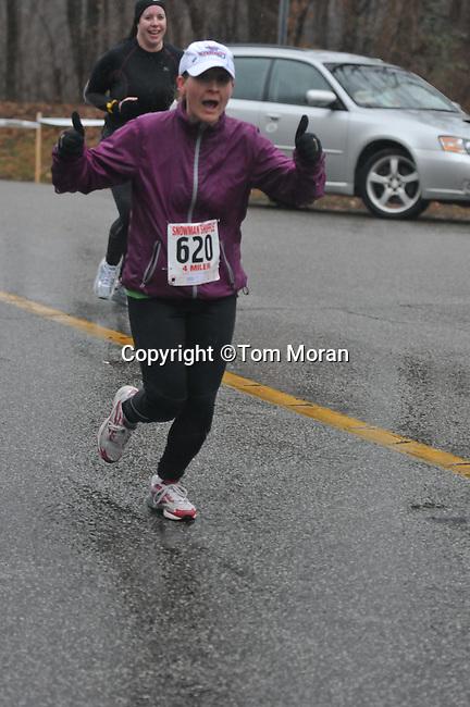 Snowman Shuffle 4 Mile, Louisville, KY February 4, 2012