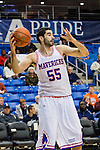 Texas-Arlington Mavericks forward Jordan Reves (55) in action during the game between the Houston Baptist Huskies and the Texas-Arlington Mavericks at the College Park Center arena in Arlington, Texas. UTA defeats Houston Baptist 81 to 47...