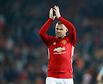 Wayne Rooney of Manchester United during the Europa League Semi Final 2nd Leg match at Old Trafford Stadium, Manchester. Picture date: May 11th 2017. Pic credit should read: Simon Bellis/Sportimage