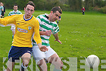 Currans v Castleislands in their Premier B clash on Sunday..