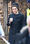 Filming of The Crown series 4 at Winchester Cathedral