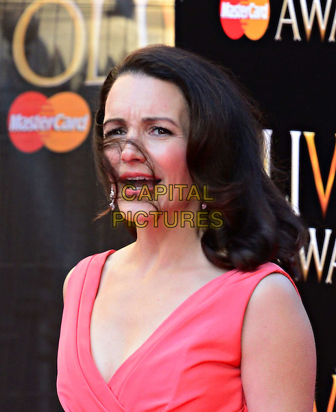 LONDON, ENGLAND - APRIL 13:  Kristin Davis attends The Olivier Awards, the illustrious ceremony celebrating the very best in English theatre, at Royal Opera House, Covent Garden, on April 13, 2014, in London, England.<br /> CAP/JOR<br /> &copy;Nils Jorgensen/Capital Pictures