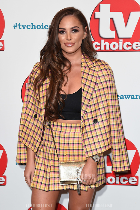 LONDON, UK. September 10, 2018: Courtney Green at the TV Choice Awards 2018 at the Dorchester Hotel, London.<br /> Picture: Steve Vas/Featureflash