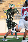 Redondo Beach, CA 05/11/10 - Marcus Egeck (MC # 9) in action during the 2010 Los Angeles Boys Lacrosse championship game, Mira Costa defeated Palos Verdes 12-10 at Redondo Union High School.