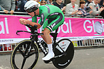 Ryan Mullen (IRL) climbs Parliment Street during the Men Elite Individual Time Trial of the UCI World Championships 2019 running 54km from Northallerton to Harrogate, England. 25th September 2019.<br /> Picture: Seamus Yore | Cyclefile<br /> <br /> All photos usage must carry mandatory copyright credit (© Cyclefile | Seamus Yore)