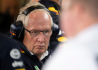 Helmut Marko (ASTON MARTIN RED BULL RACING) during the Formula 1 Rolex British Grand Prix 2019 at Silverstone Circuit, Towcester, England on 14 July 2019. Photo by Vince  Mignott.
