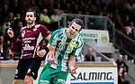 Stockholm 2014-12-03 Handboll Elitserien Hammarby IF - IFK Sk&ouml;vde :  <br /> Hammarbys Josef Pujol jublar efter ett av sina m&aring;l under matchen mellan Hammarby IF och IFK Sk&ouml;vde <br /> (Foto: Kenta J&ouml;nsson) Nyckelord:  Eriksdalshallen Hammarby HIF Bajen IFK Lugi jubel gl&auml;dje lycka glad happy