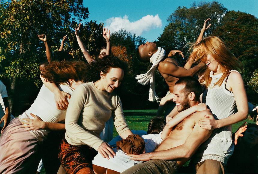 """The Field"" | Troy Ogilvie, Shamel Pitts, Douglas Letheren, Annie Shreffler | Brooklyn | 2006"