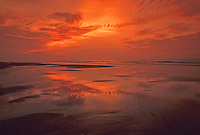 Sunrise, Atlantic Ocean, Avalon beach, New Jersey