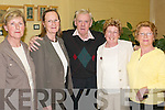 TAKING IN A SHOW: At the Buds of Ballybunion, performed by the Tintean Players at the Tintean Theatre, Ballybunion, on Friday night, were Eleanor Hannon, Deirdre Stack, Tim Hannon, Betty Hartnett and Marie Finucane, Ballybunion. .
