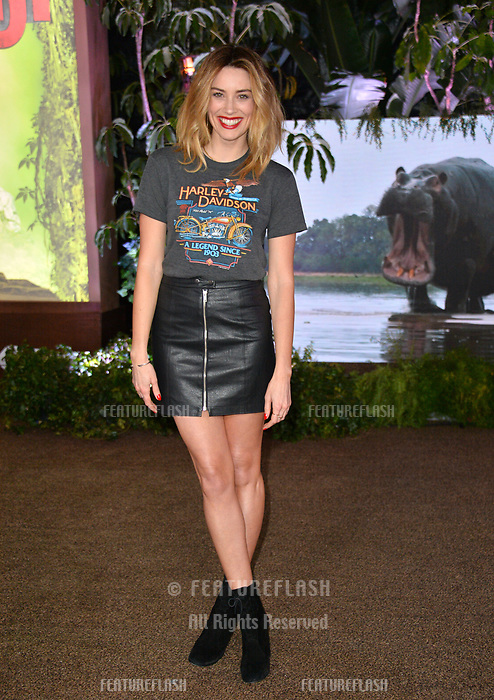 Arielle Vandenberg at the Los Angeles premiere of &quot;Jumanji: Welcome To the Jungle&quot; at the TCL Chinese Theatre, Hollywood, USA 11 Dec. 2017<br /> Picture: Paul Smith/Featureflash/SilverHub 0208 004 5359 sales@silverhubmedia.com