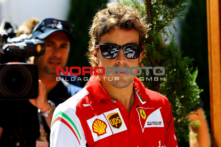 Fernando Alonso (ESP),  Scuderia Ferrari<br /> for the complete Middle East, Austria &amp; Germany Media usage only!<br />  Foto &copy; nph / Mathis
