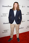 Actor Amadeus Serafini arrives at the Tribeca Talks: Storytellers with Ed Burns & world premiere of Summertime at BMCC Tribeca PAC, on April 27, 2018, during the 2018 Tribeca Film Festival.