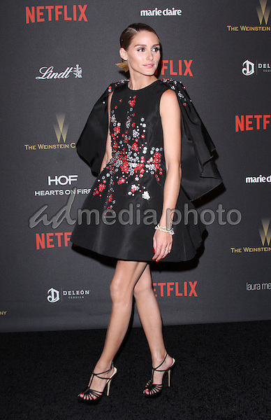10 January 2016 - Los Angeles, California - Olivia Palermo. 2016 Weinstein Company & Netflix Golden Gloves After Party held at the Beverly Hilton Hotel. Photo Credit: AdMedia