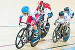 Anastasiia Voinova of Russia competes in the Women's Keirin - 2nd Round during the the 2017 UCI Track Cycling World Championships on 16 April 2017, in Hong Kong Velodrome, Hong Kong, China. Photo by Marcio Rodrigo Machado / Power Sport Images