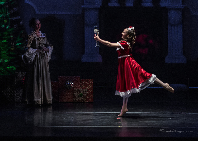 "Cary Ballet Company, ""Visions of Sugarplums"", Saturday Matinee, 20 Dec. 2014, Cary Arts Center, Cary, North Carolina."