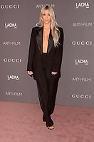 LOS ANGELES, CA - NOVEMBER 04: Kim Kardashian West at the 2017 LACMA Art + Film Gala Honoring Mark Bradford And George Lucas at LACMA on November 4, 2017 in Los Angeles, California. Credit: David Edwards/MediaPunch /NortePhoto.com