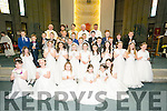 COMMUNION: The students and teachers of Listellick NS who made the First Holy Communion at Our Lady & St Brendan's Church, Tralee on Saturday