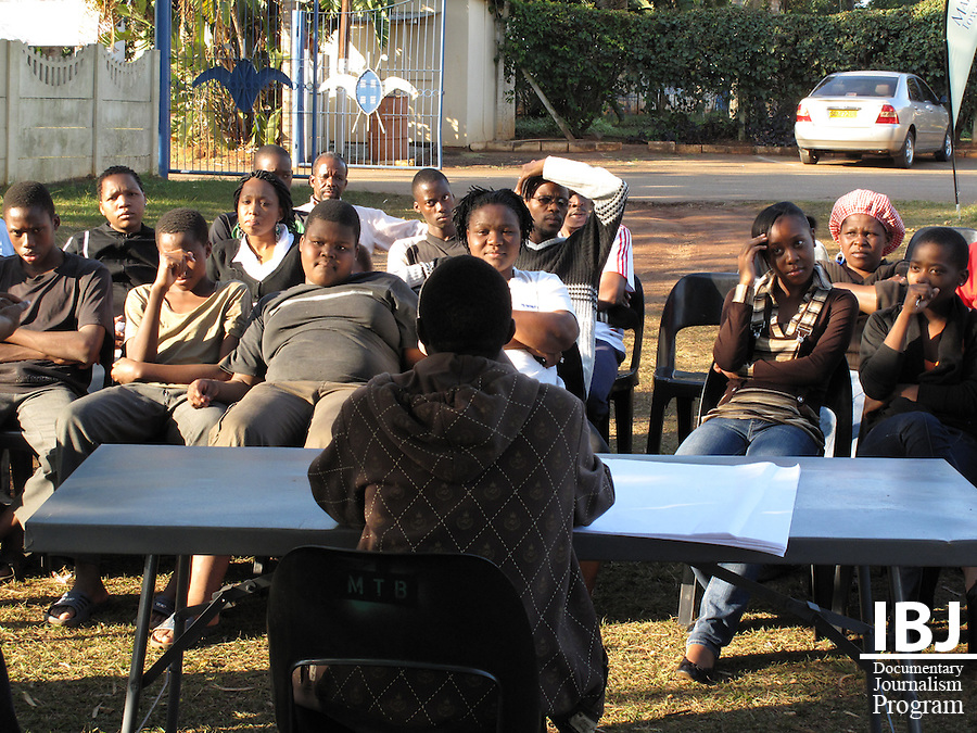 IBJ interns helped during a child abuse workshop conducted by the Matsapha Town Board.