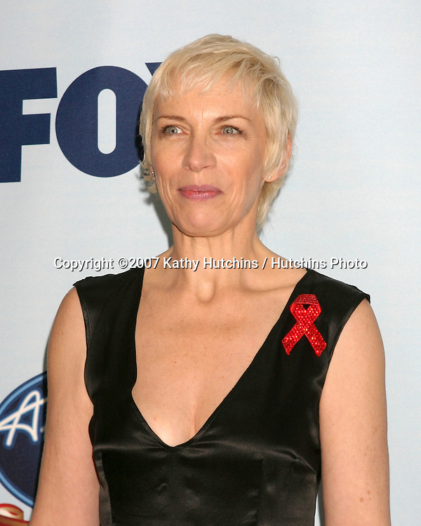Annie Lennox.American Idol Gives Back - Press Room.Disney Concert Hall.Los Angeles, CA.April 25, 2007.©2007 Kathy Hutchins / Hutchins Photo....