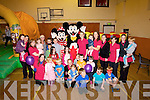 CHILDCARE: Mickey and Mini mouse who were special guest at the relaunch of the Ardfert Community Centre Childcare on Saturday were momies and their children attended.