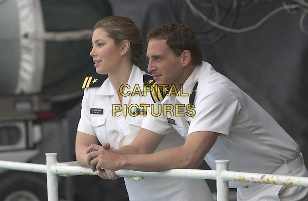 JESSICA BIEL & JOSH LUCAS.in Stealth.*Editorial Use Only*.www.capitalpictures.com.sales@capitalpictures.com.Supplied by Capital Pictures.