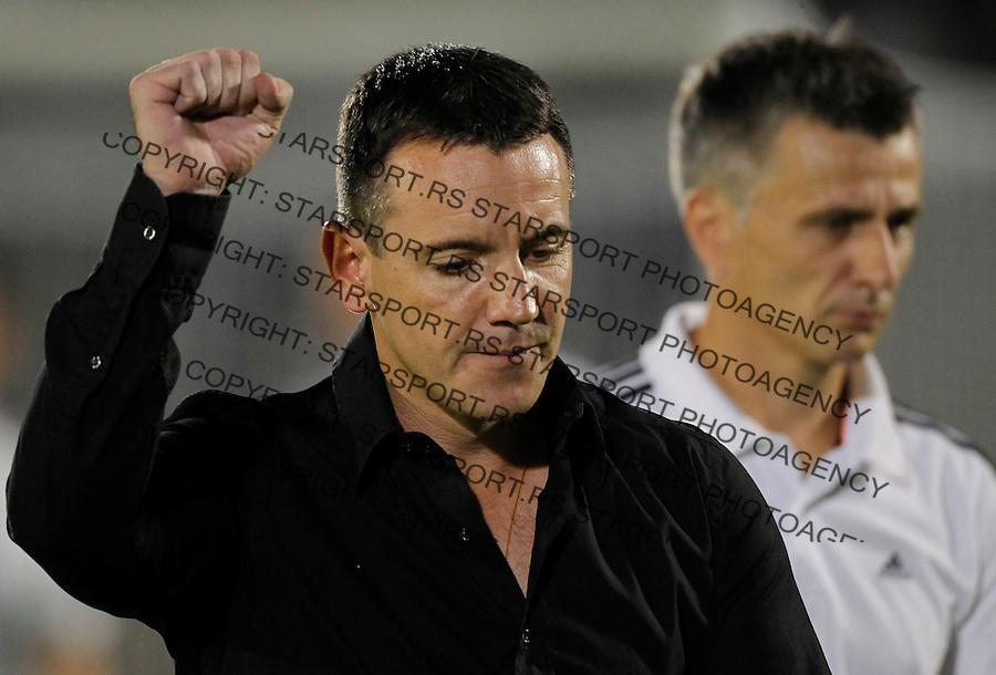 Fudbal UEFA Champions League season 2012-2013<br /> Third qualifying round, Second leg<br /> Partizan v Ludogorec<br /> Head coach Vuk Rasovic<br /> Beograd, 06.08.2013.<br /> foto: Srdjan Stevanovic/Starsportphoto &copy;