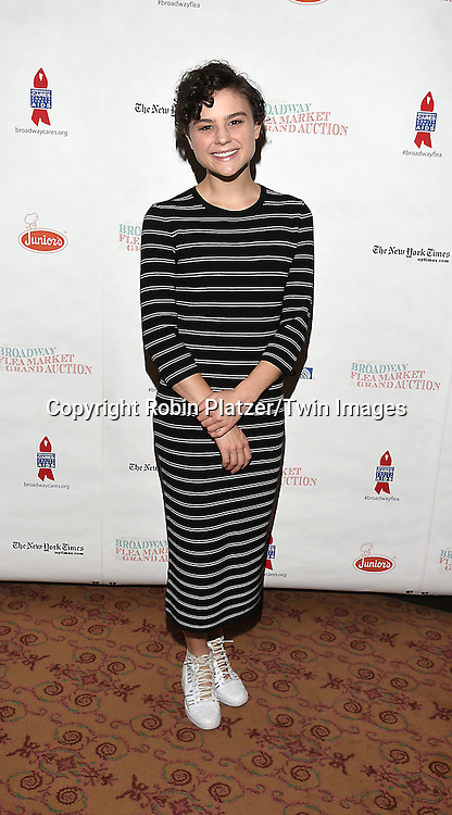 Melanie Moore attends the Broadway Cares/Equity Fights Aids Flea Market and Grand Auction on September 25, 2016 at the Music Box Theatre and in Shubert Ally in New York, New York, USA. <br /> <br /> photo by Robin Platzer/Twin Images<br />  <br /> phone number 212-935-0770