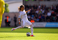 Saturday, 06 October 2012<br /> Pictured: Chico Flores of Swansea<br /> Re: Barclays Premier League, Swansea City FC v Reading at the Liberty Stadium, south Wales.<br /> Chico Flores
