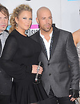 Chris Daughtry and wife attends 2011 American Music Awards held at The Nokia Theater Live in Los Angeles, California on November 20,2011                                                                               © 2011 DVS / Hollywood Press Agency