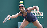Sloane Stephens (USA) goes into three sets against Daria Kasatkina (RUS)