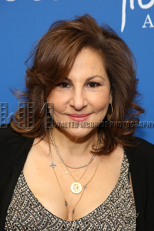 """Kathy Najimy attends the Opening Night Performance of """"Gloria: A Life"""" on October 18, 2018 at the Daryl Roth Theatre in New York City."""