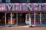 Mint amusement arcade sign, Great Yarmouth, Norfolk, England