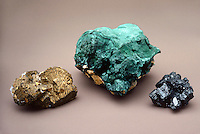 CHALCOPYRITE AND MALACHITE<br />