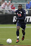 13 December 2009: Virginia's Tony Tchani. The University of Akron Zips played the University of Virginia Cavaliers at WakeMed Soccer Stadium in Cary, North Carolina in the NCAA Division I Men's College Cup Championship game.