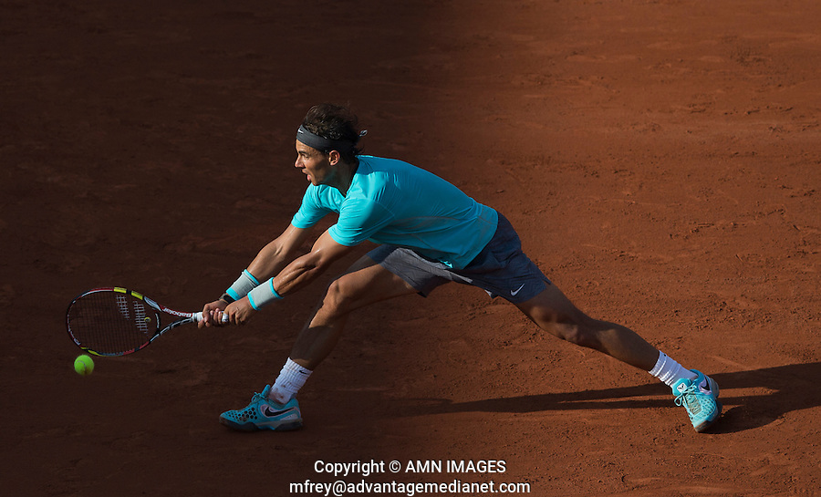 RAFAEL NADAL (ESP)<br /> <br /> Tennis - French Open 2014 -  Toland Garros - Paris -  ATP-WTA - ITF - 2014  - France -  26 May 2014. <br /> <br /> &copy; AMN IMAGES